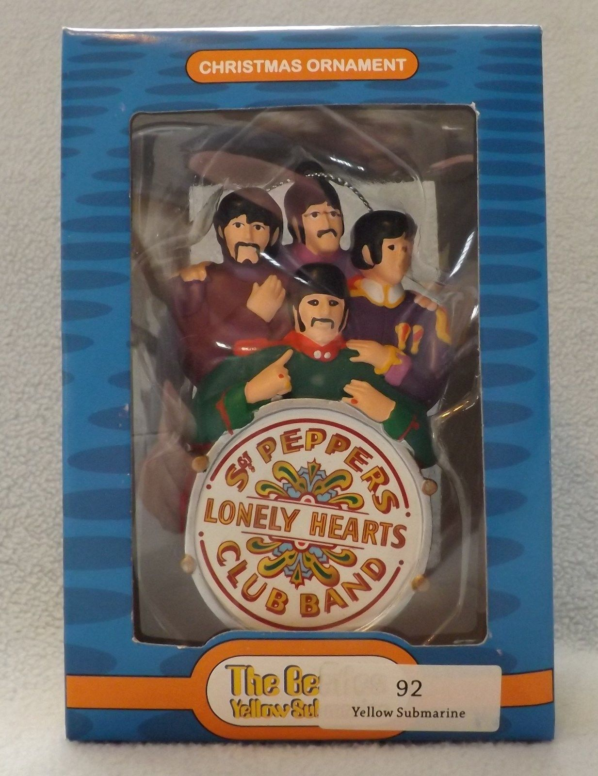 "4"" Yellow Submarine Sargeant Peppers Band The Beatles Ornament by Kurt S Adler"