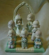 Precious Moments Miniature Pewter Bridal Set 1989 image 1