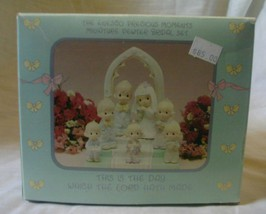 Precious Moments Miniature Pewter Bridal Set 1989 image 2