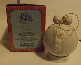 Precious Moments May Your Christmas Be Merry Special 1991 Issue Ornament image 2