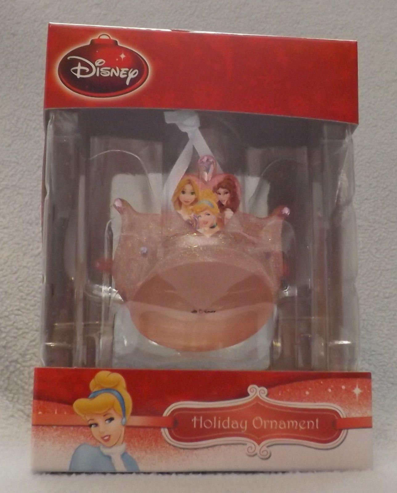 "Disney 3"" Princess Crown 3D Figural Resin Ornament"