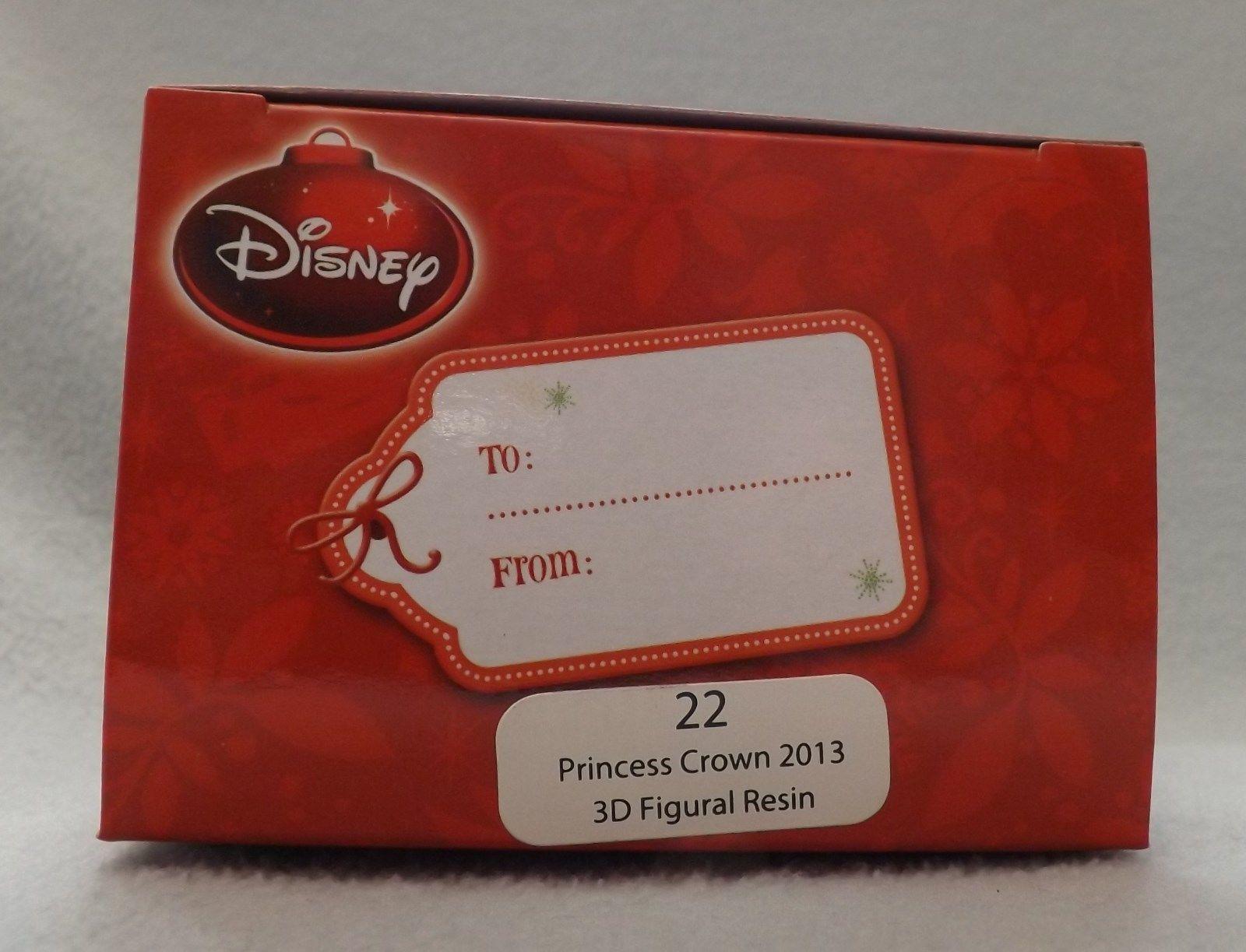 "Disney 3"" Princess Crown 3D Figural Resin Ornament image 2"