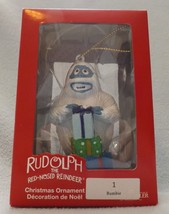 """Rudolph the Red Nosed Reindeer 4"""" Bumble Ornament by Kurt S Adler - $14.99"""