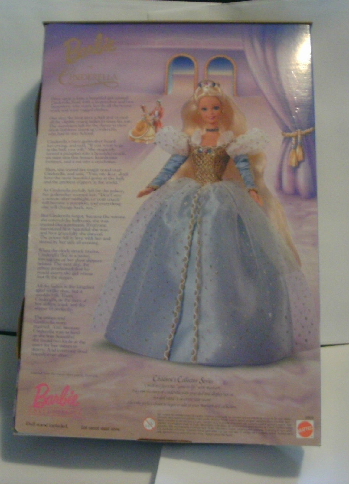 1996 Barbie as Cinderella Collector Edition Children's Collector Series