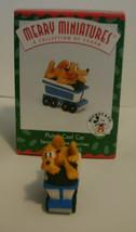 Disney Hallmark Merry Miniatures Mickey Express Train 1998 Complete Set of 5 image 4
