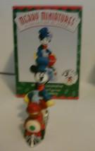 Disney Hallmark Merry Miniatures Mickey Express Train 1998 Complete Set of 5 image 3