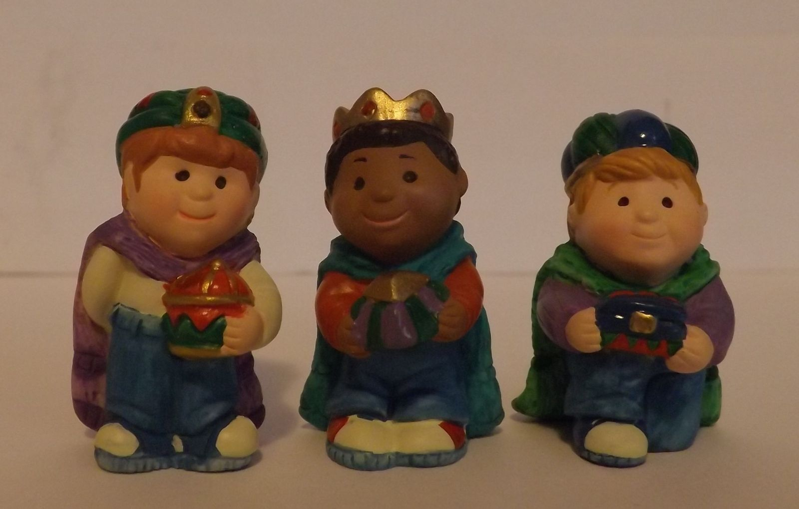 Hallmark Merry Miniatures Three Wee Kings 3-Piece Set Holidays 1997 image 2