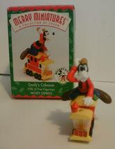 Disney Hallmark Merry Miniatures Mickey Express Train 1998 Complete Set of 5 image 7