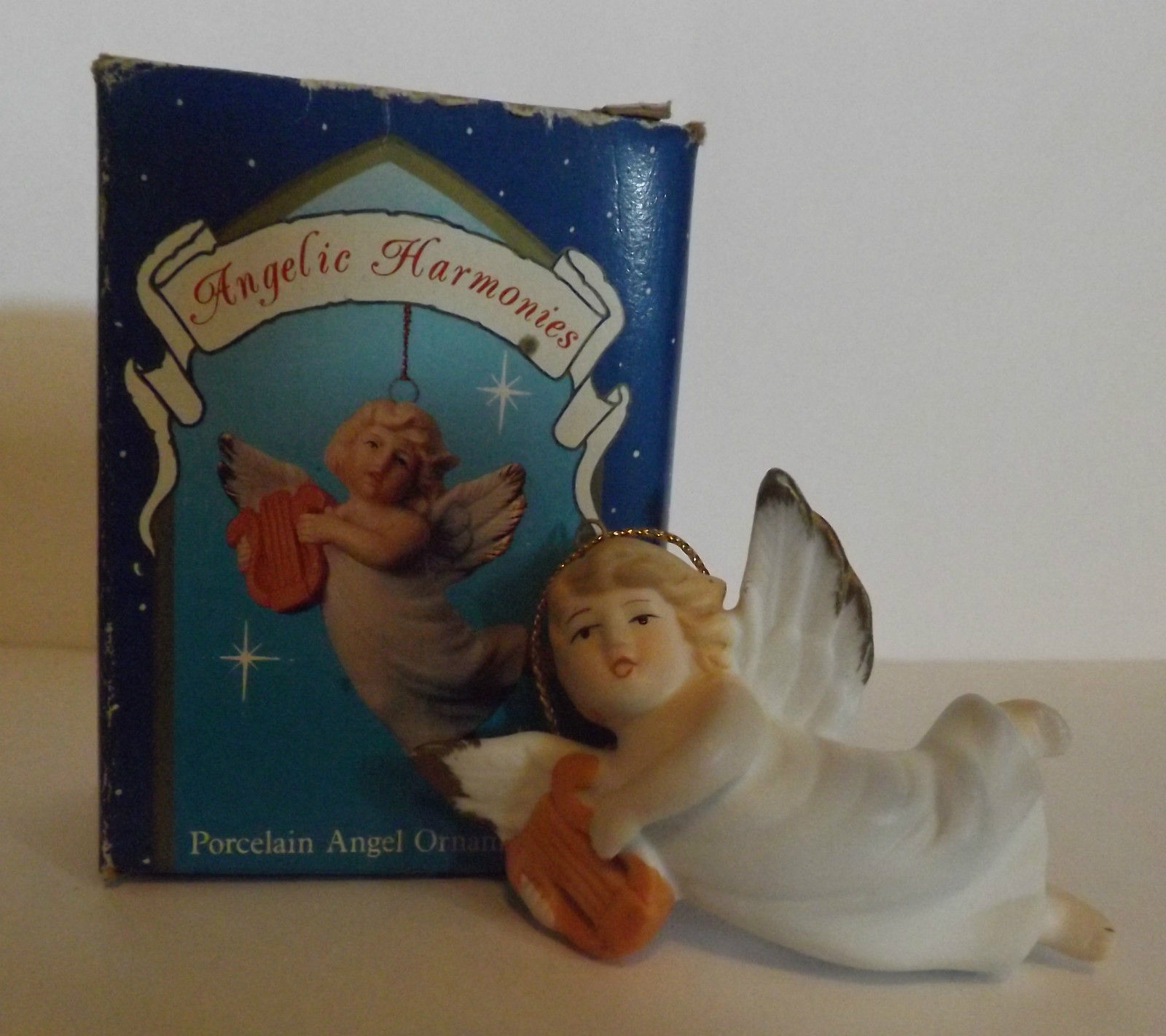 Angelic Harmonies Porcelain Angel Ornament by Russ image 2