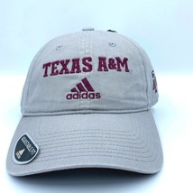 New Unisex Adidas NCAA Texas A&M Aggies Dad Hat One Size Fits Most - $31.34