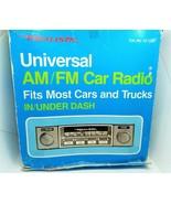 """Radio Shack Realistic Universal AM/FM Car Radio / #12-1355""  NOS open Box  - $128.69"