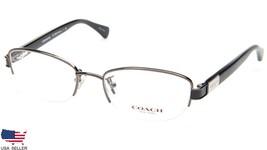 NEW COACH HC 5059 Kacey 9017 DARK SILVER /BLACK EYEGLASSES FRAME 50-18-1... - $64.34