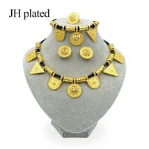 JHplated 2019 Ethiopian Jewelry Gold Color Rope Sets for African /Ethiopia /Erit - $24.51