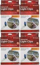 Lote 4x 25 Contar Simple Living Innovaciones Universal Navidad Luz Canal... - $9.86