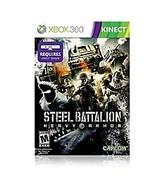 Steel Battalion: Heavy Armor (Microsoft Xbox 360, 2012) game + case - $7.96