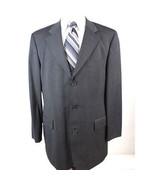 Hugo Boss Loro Piana Men's size 42L Gray Wool Blazer Sport Coat Jacket - $48.88