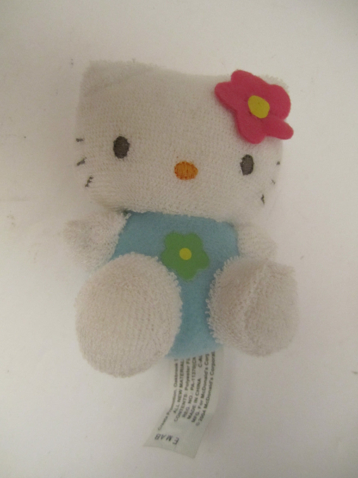 CUTE Trio of Small Plush Hello Kitty Sanrio Stuffed Cat Animal Toys NM Pre-Owned image 6
