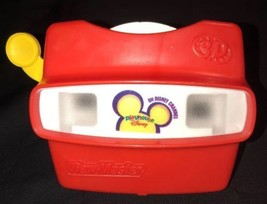 1998 Disney Playhouse Red 3D View-Master Toy With Tigger And Pooh Reel - $14.85