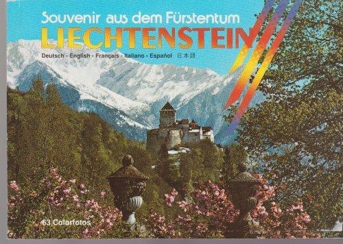 Souvenir aus dem Furstentum Liechtenstein [Paperback] by Castello