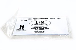 "12X Gateway Safety 24U01 2 x 4-1/4"" Polycarbonate Welding Helmet Lens Co... - $6.41"