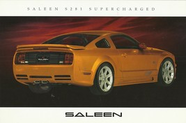 2006 Saleen S281 SUPERCHARGED sales brochure catalog card Mustang 06 - $9.00