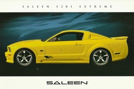 2006 Saleen S281 EXTREME sales brochure catalog card sheet Mustang 06 - $9.00