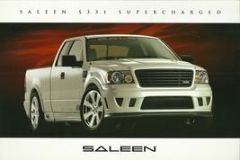 2006 Saleen S331 SUPERCHARGED sales brochure catalog card sheet F150 06 - $9.00