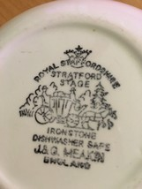 Royal Staffordshire Stratford Stage by J. & G. Meakin Fruit/Dessert Sauc... - $13.75