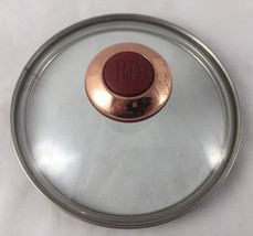 "PAULA DEEN Replacement Glass Lid Only For Pot Pan Skillet 6 1/4"" Dean - $18.99"