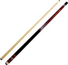 "Cuetec Starlight Series 58"" 2-Piece Canadian Maple Billiard/Pool Cue, Red - $152.00"