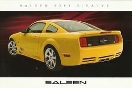 2006 Saleen S281 3-VALVE sales brochure catalog card sheet Ford Mustang 06 - $8.00