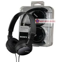 Sony MDR-ZX110 Stereo Monitor Foldable Headband Overhead 3.5MM MP3 Headp... - $29.99