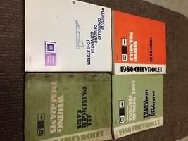 1980 GM Chevrolet Chevy CORVETTE Service Shop Repair Workshop Manual Set... - $217.78
