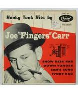 Joe Fingers Carr Honky Tonk Hits Capitol Snow Deer Rag 45rpm EAP 1-417 - $12.62
