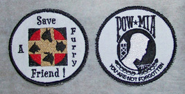 Embroidered custom patches stable business rescue  political image 1