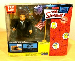 Simpsons World of Springfield Environment Court Room with Judge Snyder - $29.55