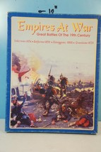 Empires at War Great Battles of the 19th Century - Decision Games 1993 U... - $38.60