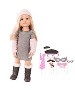 """Gotz Hannah Loves Party 19.5"""" All Vinyl Poseable Doll with Long Blonde H... - $126.34"""