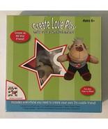 "Arts Crafts Kit Make Your Own Monkey 7"" Stuffed Animal Clothing Sticker ... - $14.99"