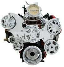 CHEVY GM LS LS1 LS2 LS6 FRONT DRIVE SERPENTINE PULLEY KIT GM CHEVROLET 5.7L 6.0L image 2
