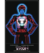Tron 1982 Reproduction 24 x 34 Theater Promo Poster - Sci-Fi Video Compu... - $45.00