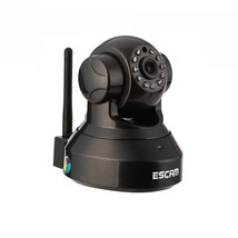 ESCAM Pearl QF100 WIFI IR-Dome Network Surveillance IP Camera 720P 1.0 M... - $70.10