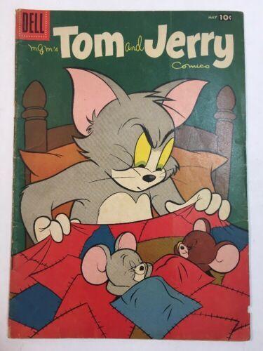 TOM & JERRY COMICS #154 MAY 1957 DELL COMICS SILVER AGE