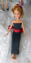 "Mattel 2010 Stacie 9"" Doll - Bends at the knees - Handmade Dress - $9.49"