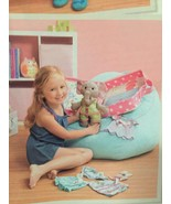 Simplicity Sewing Pattern 1238 Ellie the Elephant Suitcase Clothes New D... - $14.44