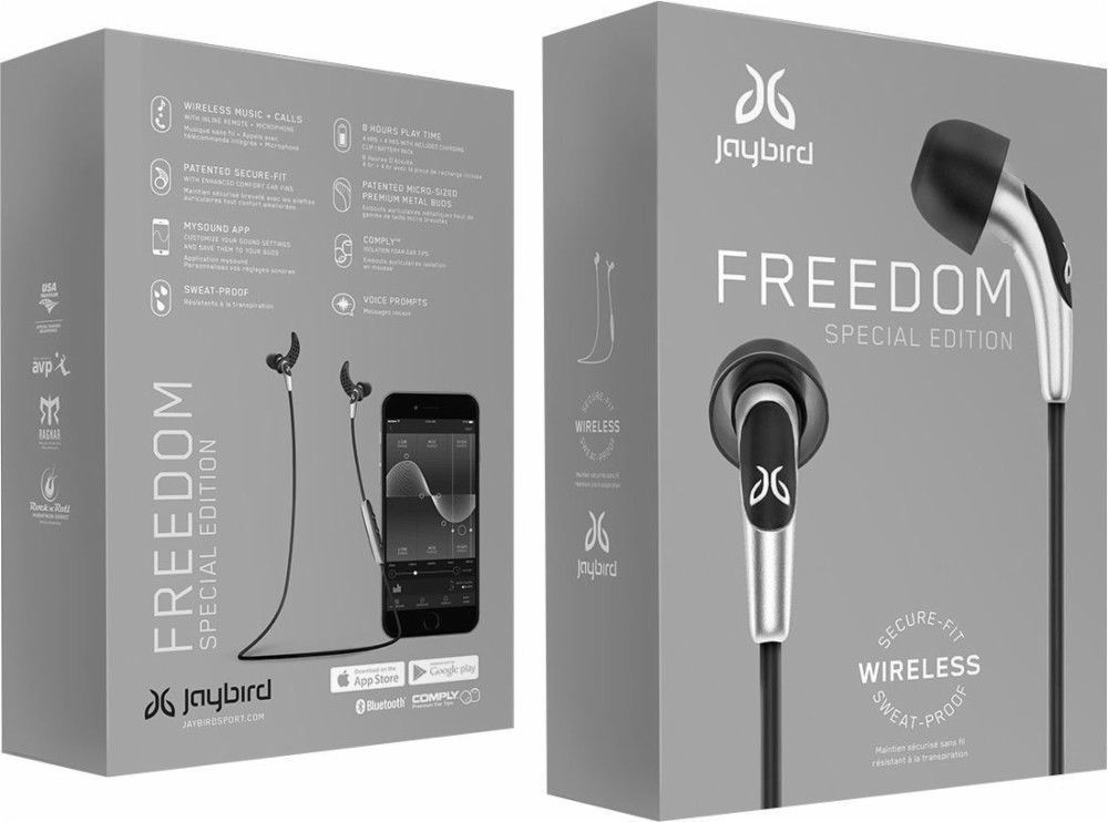 Used, NEW JAYBIRD FREEDOM F5 SPECIAL EDITION IN EAR WIRELESS EARPHONES HEADPHONES for sale  USA