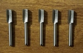 5 New Dremel Authentic Product 654 Router Bit High Speed, High Grade Steel - $29.99