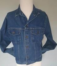 Medium Vintage Gap Pioneer Blue Denim Jean Jacket Mens - $22.76