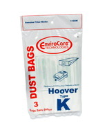 Envirocare Vacuum Bags Designed To Fit Hoover Type K Canister Vacuums 110SW - $3.56
