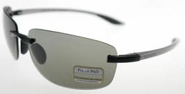 Serengeti Rotolare Aluminum Satin Black / Polarized Ph D Cpg Sunglasses 7478 - $197.01